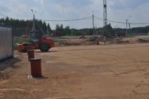 рбс устройство основания футбольного поля многофункциональный спортивный комплекс Локомотив (1)
