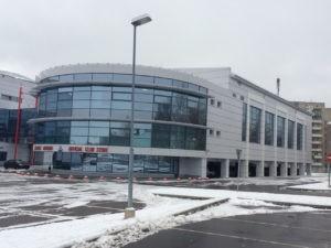 Зал сухой разминки хоккейного клуба Локомотив - стрительство